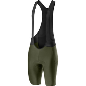 Castelli Unlimited Bib Shorts Heren, military green